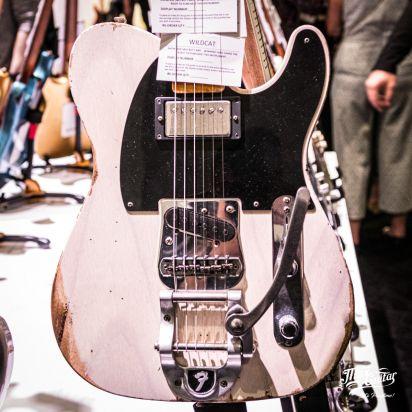 Fender CS Vibra-Telecaster, Aged White Blonde, Heavy Relic