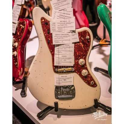 Fender CS 1965 Jazzmaster, Aged Olympic White, Relic