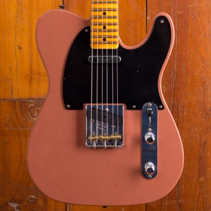 Fender CS Masterdesign 1952 Telecaster Journeyman Jason Smith Chevy Bittersweet #R18287