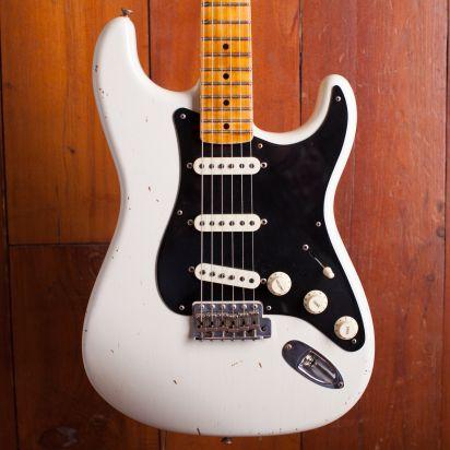 Fender CS Masterdesign 1956 Stratocaster Relic Todd Krause Desert Tan #CZ536122