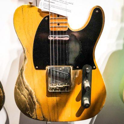 Fender CS Namm 52 Telecaser Heavy Relic Smoked Blonde Butterscotch Dale Wilson Masterbuilt #403