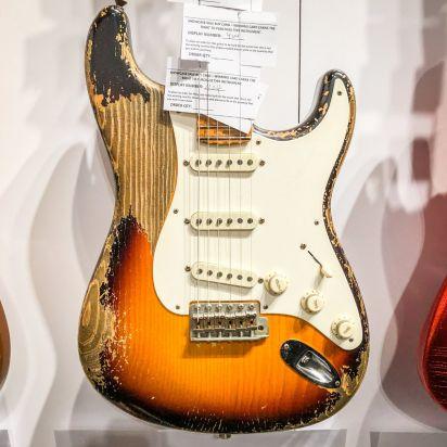 Fender CS Namm 1950'S Spruce Strat Heavy Relic 2 Tone Sunburst Dale Wilson Masterbuilt #404