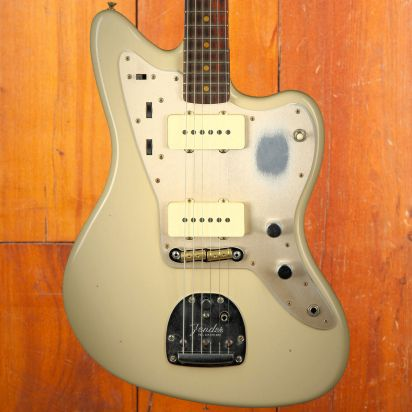 Fender CS 1959 Jazzmaster, Journeyman Relic, Rosewood Fingerboard, Aged Olympic White
