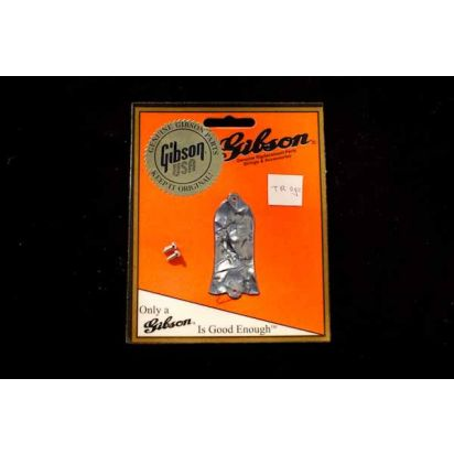 Gibson Truss Rod Cover Black Pearl
