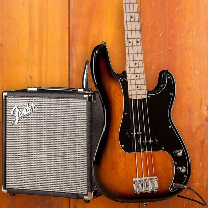 Squier Affinity PJ Bass Pack Sunburst
