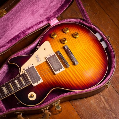 Gibson Max Guitar 15th Anniversary 1959 Les Paul AAAA flametop, #Max 014
