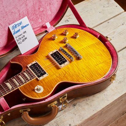 Gibson Custom Duane Allman 1959 Cherry Sunburst Les Paul Aged
