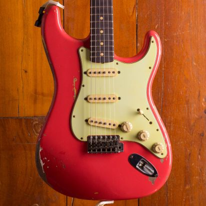 Fender CS Extremely Limited Gary Moore Stratocaster - Fiesta Red #57 of 60