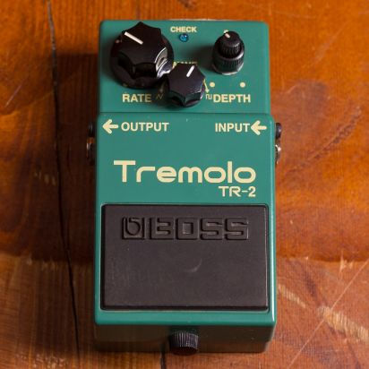BOSS Tr-2 Tremolo Keeley Mod