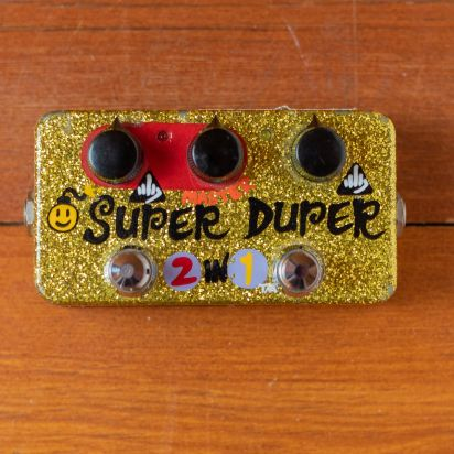 Zvex Super Duper Custom Handpainted
