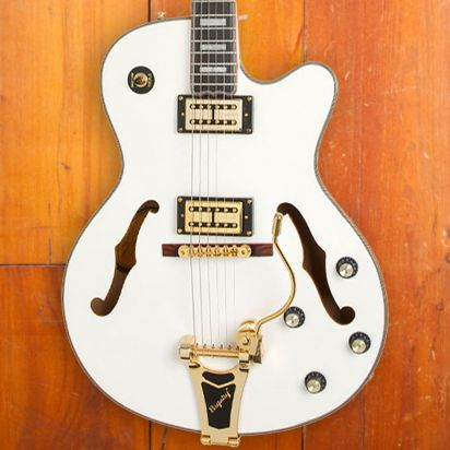 Epiphone Emperor Swingster Royale, Pearl White