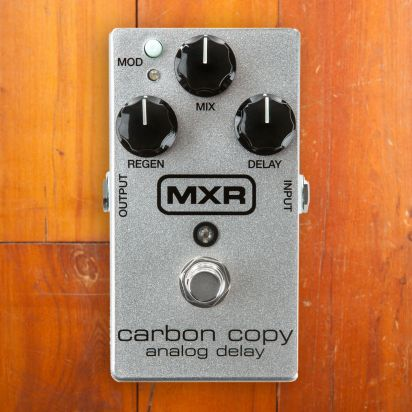 MXR Carbon Copy 10th Anniversary Silver