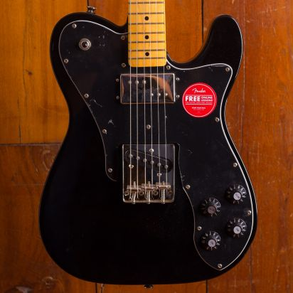 Squier Classic Vibe 70s Telecaster Deluxe MN Black