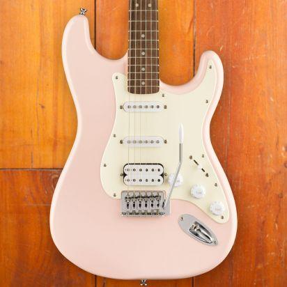 Squier Bullet Stratocaster HSS, Laurel Fingerboard, Shell Pink