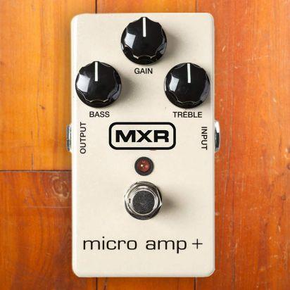 MXR Micro Amp Plus
