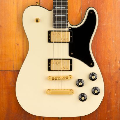 Fender Troublemaker Custom 2PU Olympic White