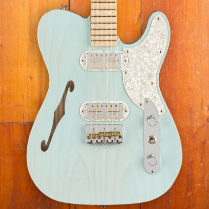 Fender Tele Magico Daphne Blue Transparant