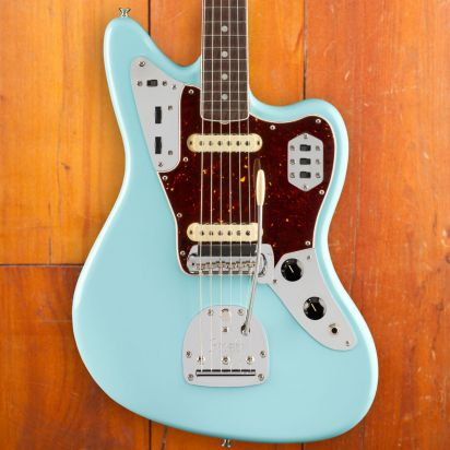 Fender American Original 60s Jaguar, Rosewood, Daphne Blue