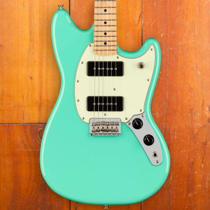 Fender Mustang 90, Maple Neck, Seafoam Green