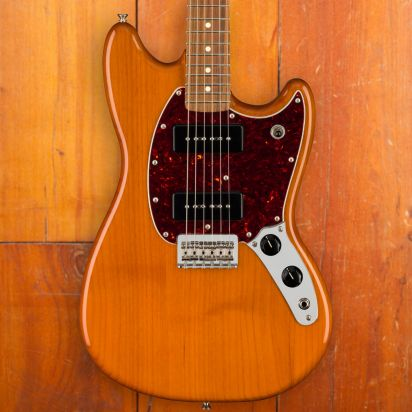 Fender Mustang 90, Pao Ferro, Aged Natural