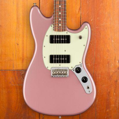 Fender Mustang 90, Pao Ferro, Burgundy Mist