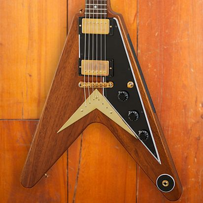 Gibson 1958 Mahogany Flying V Reissue VOS