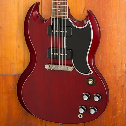Gibson 1963 SG Special Reissue Lightning Bar VOS CR