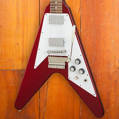 Gibson 1967 Mahogany Flying V w/ Maestro Gloss SB