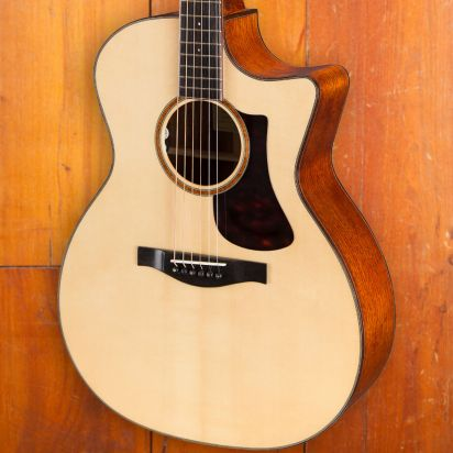 Eastman AC522CE, Pearl Hurricane Inlay