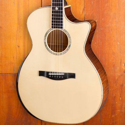 Eastman AC622CE, Maple Leaf Inlay