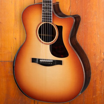 Eastman AC722CE, Pearl Hurricane Inlay