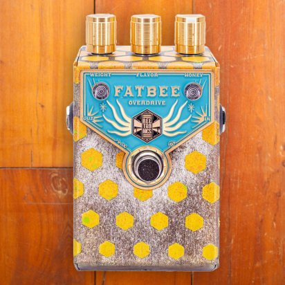 Beetronics Fatbee Overdrive Blue Gold
