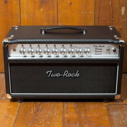 Two-Rock Classic Reverb Signature 100/50 Watt Head, Silver Knob