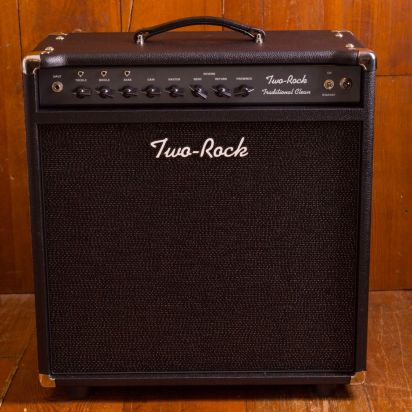 Two-Rock Traditional Clean 100/50 Watt Combo Black Sparkle