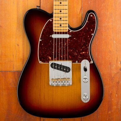 Fender American Professional II Telecaster, Maple Neck, 3 Tone Sunburst