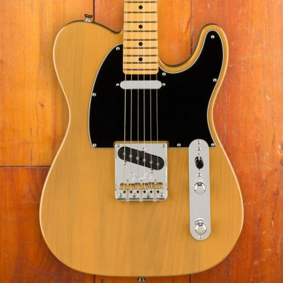Fender American Professional II Telecaster, Maple Neck, Butterscotch Blonde