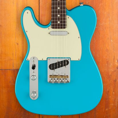 Fender American Professional II Telecaster, Lefty, Rosewood, Miami Blue