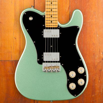 Fender American Professional II Telecaster Deluxe, Maple Neck, Mystic Seafoam Green