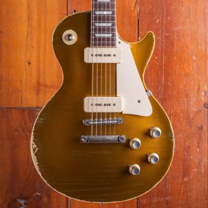 Gibson CS Les Paul Goldtop 1968 P90 Heavy Aged