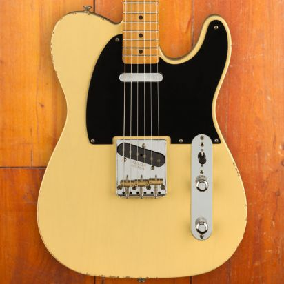 Fender Vintera Road Worn 1950s Telecaster Maple Fingerboard Vintage Blond