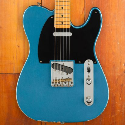 Fender Vintera Road Worn 1950s Telecaster Maple Fingerboard Lake Placid Blue