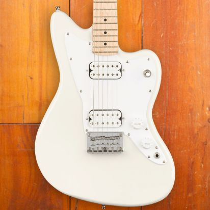 Squier Mini Jazzmaster HH, MF, Olympic White