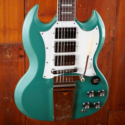 Gibson Kirk Douglas Signature SG, Inverness Green