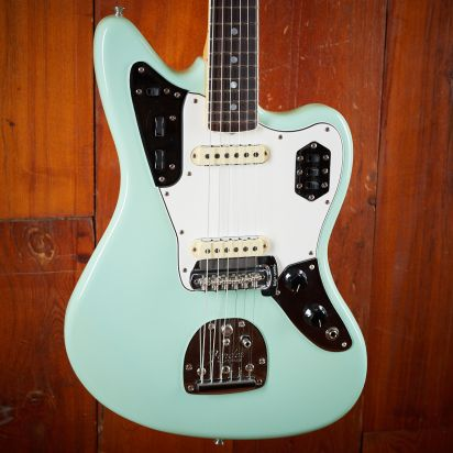 Fender CS 1964 Jaguar, Rosewood, Lush Closet Classic - Aged Sea Foam Green