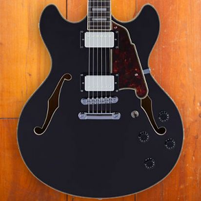 D'Angelico Premier DC - Black Flake