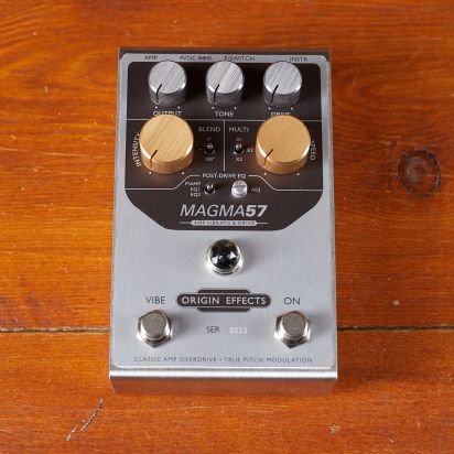 Origin Effects MAGMA57 AMP VIBRATO & DRIVE