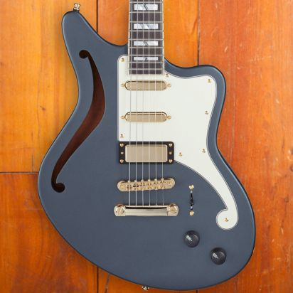 D'Angelico LTD Deluxe Bedford SH, Matte Charcoal