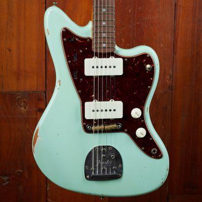 Fender CS 1965 Jazzmaster Faded Surf Green