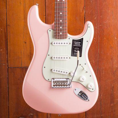 Fender LTD Player Stratocaster Pau Ferro Fingerboard Shell Pink