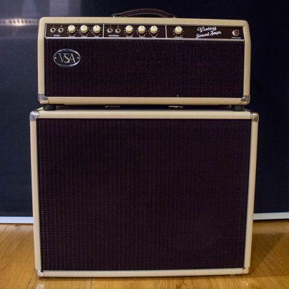 Fender Bassman Blond 2x12 Set